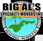 Big Al's Specialty Movers, Footer Logo
